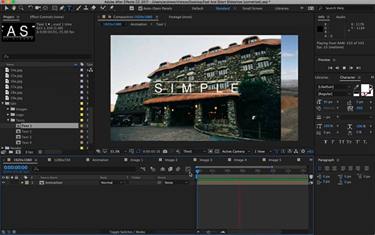 Adobe After Effects Training Courses