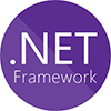 .NET Framework Using C# Logo