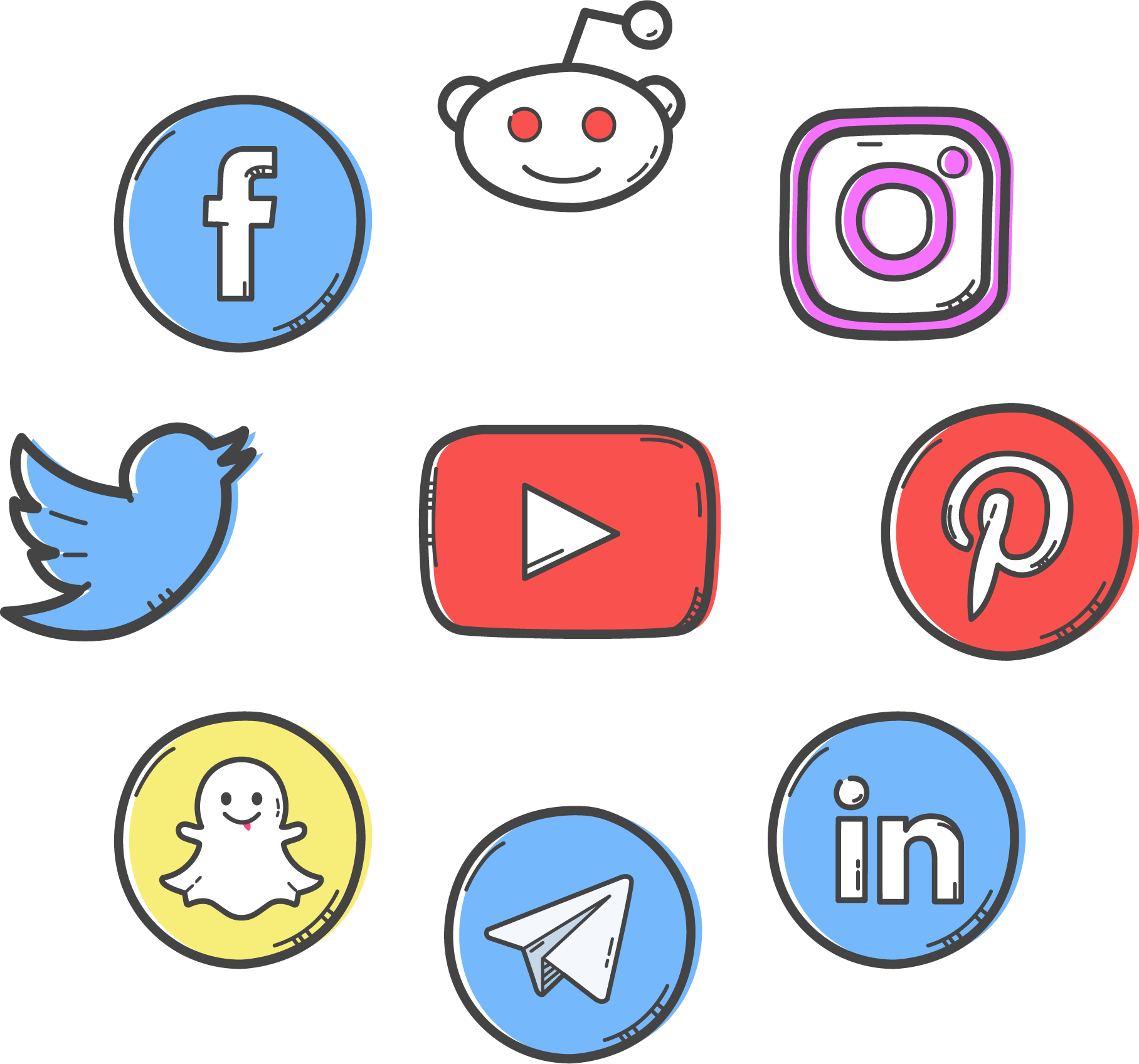 Social Media Strategist Logo